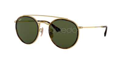Ray-Ban Round Double Bridge RB 3647N (001)