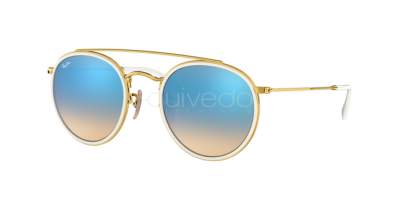 Ray-Ban Round Double Bridge RB 3647N (001/4O)