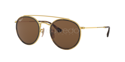 Ray-Ban Round Double Bridge RB 3647N (001/57)