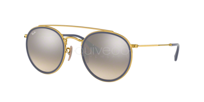 Ray-Ban Round Double Bridge RB 3647N (001/9U)