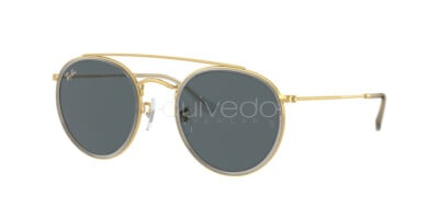 Ray-Ban Round Double Bridge Legend Gold RB 3647N (9210R5)
