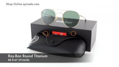 Ray-Ban Round Titanium RB 8147 (913658)
