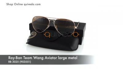 Ray-Ban Team Wang Aviator large metal RB 3025 (903551)