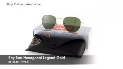 Ray-Ban Hexagonal Legend Gold RB 3548 (919631)