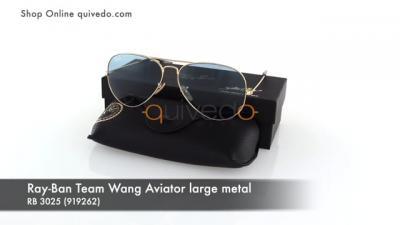 Ray-Ban Team Wang Aviator large metal RB 3025 (919262)