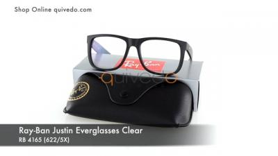 Ray-Ban Justin Everglasses Clear RB 4165 (622/5X)