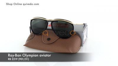 Ray-Ban Olympian aviator RB 2219 (901/31)