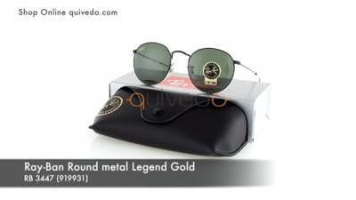 Ray-Ban Round metal Legend Gold RB 3447 (919931)