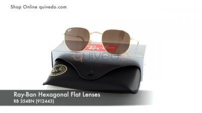 Ray-Ban Hexagonal Flat Lenses RB 3548N (912443)
