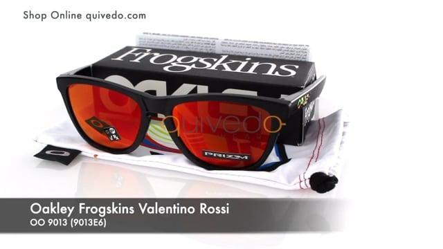 Oakley Frogskins Valentino Rossi OO 9013 (9013E6)