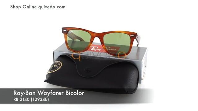 Ray-Ban Wayfarer Bicolor RB 2140 (12934E)