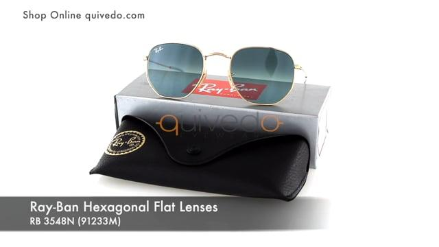 Ray-Ban Hexagonal Flat Lenses RB 3548N (91233M)