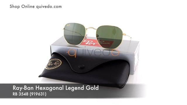 Ray-Ban Hexagonal Legend Gold RB 3548 (919631)