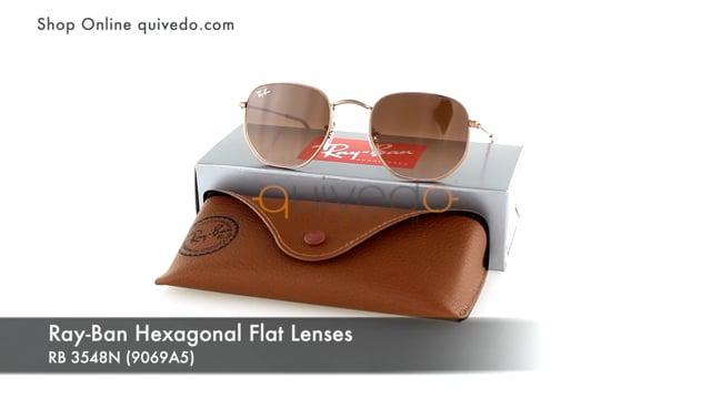 Ray-Ban Hexagonal Flat Lenses RB 3548N (9069A5)