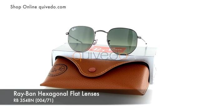Ray-Ban Hexagonal Flat Lenses RB 3548N (004/71)