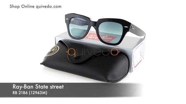 Ray-Ban State street RB 2186 (12943M)
