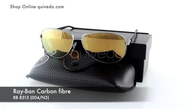 Ray-Ban Carbon fibre RB 8313 (004/N3)