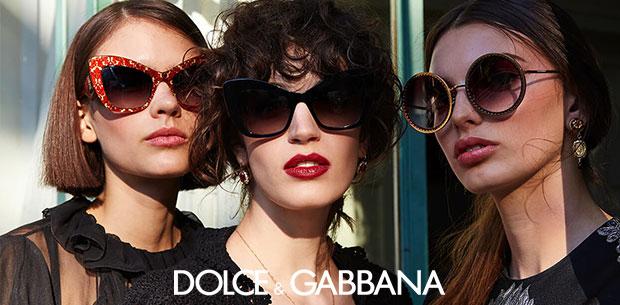 Occhiali da sole da donna Dolce & Gabbana made in Italy