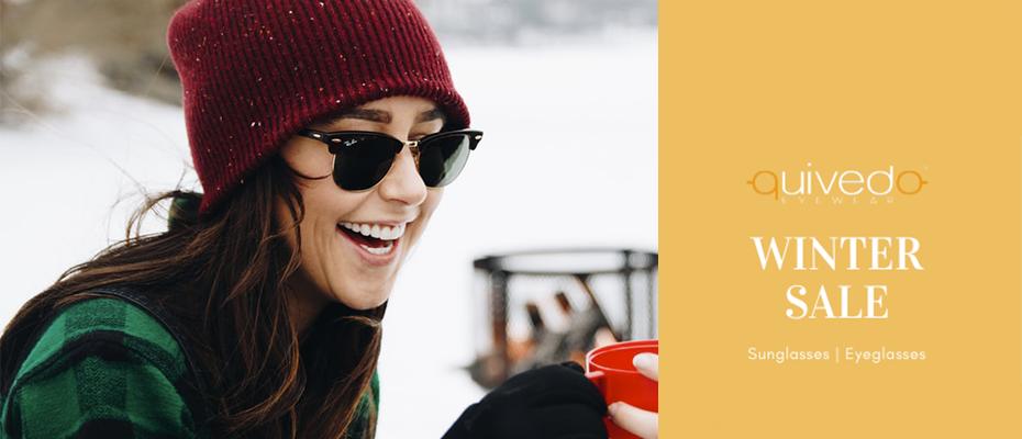 I Saldi invernali 2020 su Quivedo: occhiali scontati