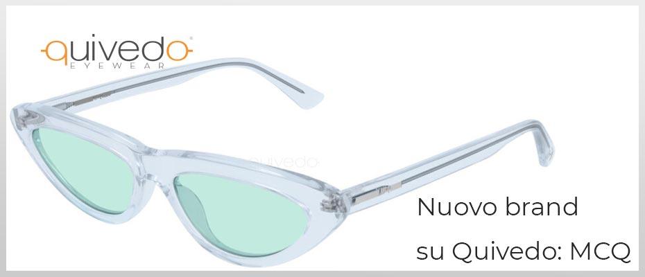 Nuovo Brand su Quivedo - MCQ: occhiali da sole e vista