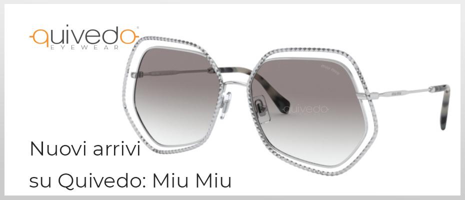 [Nuova Collezione 2020] Miu Miu: occhiali da sole e vista