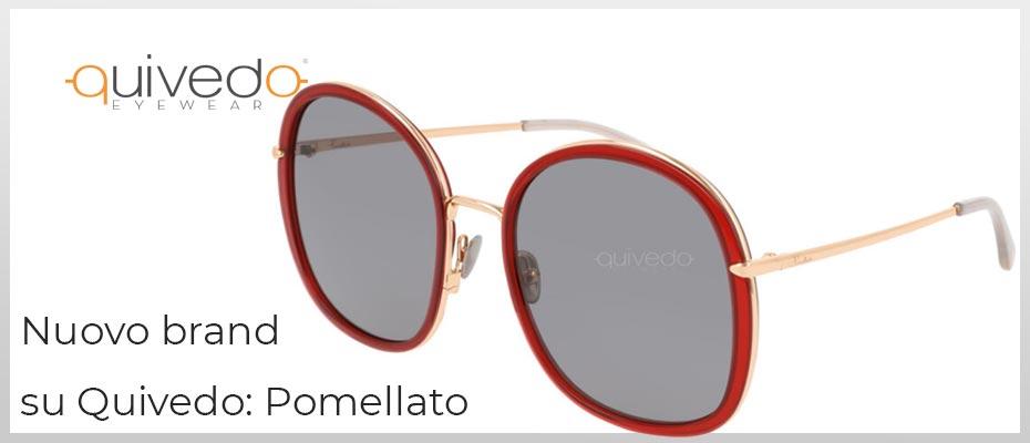 Nuovo Brand su Quivedo - Pomellato: occhiali da sole e vista