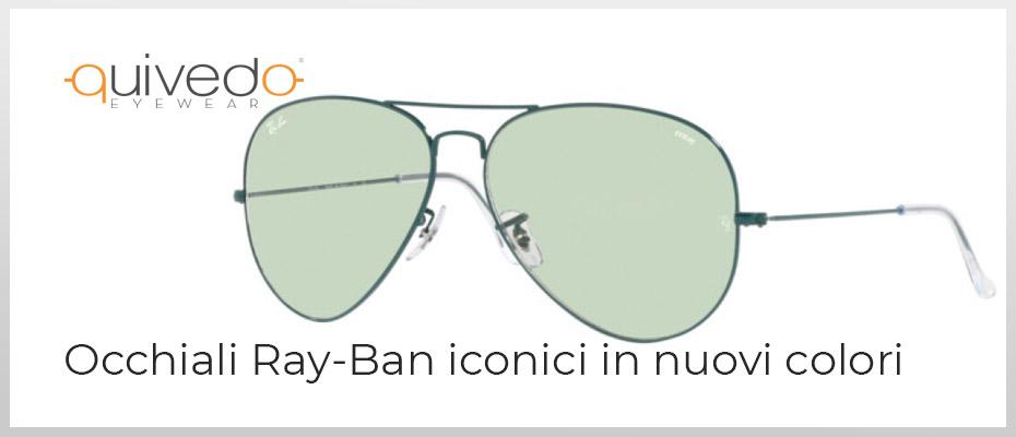 Novità estate 2021: Occhiali Ray-Ban Iconici in nuovii colori