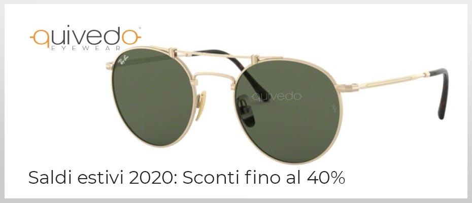 Saldi estivi 2020: occhiali da sole e montature da vista