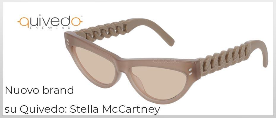 Nuovo Brand su Quivedo - Stella McCartney: occhiali da sole e vista